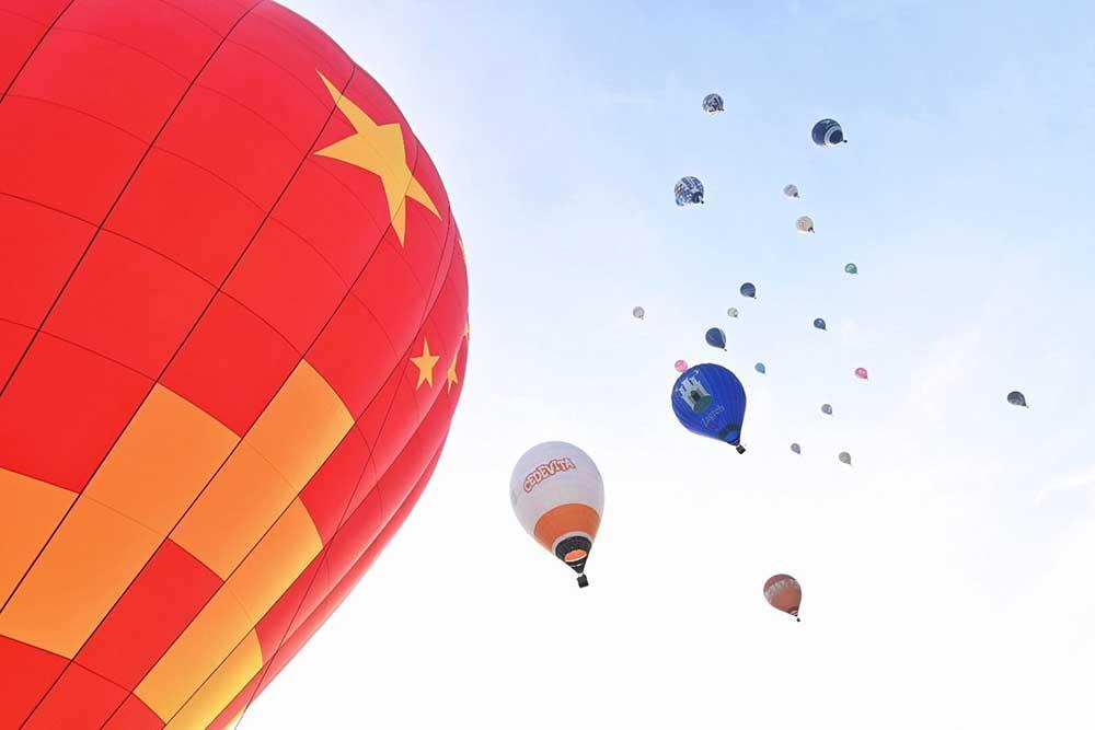 Baloni nad Mursko Soboto