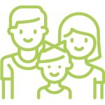 ikona družini prijazna prireditev