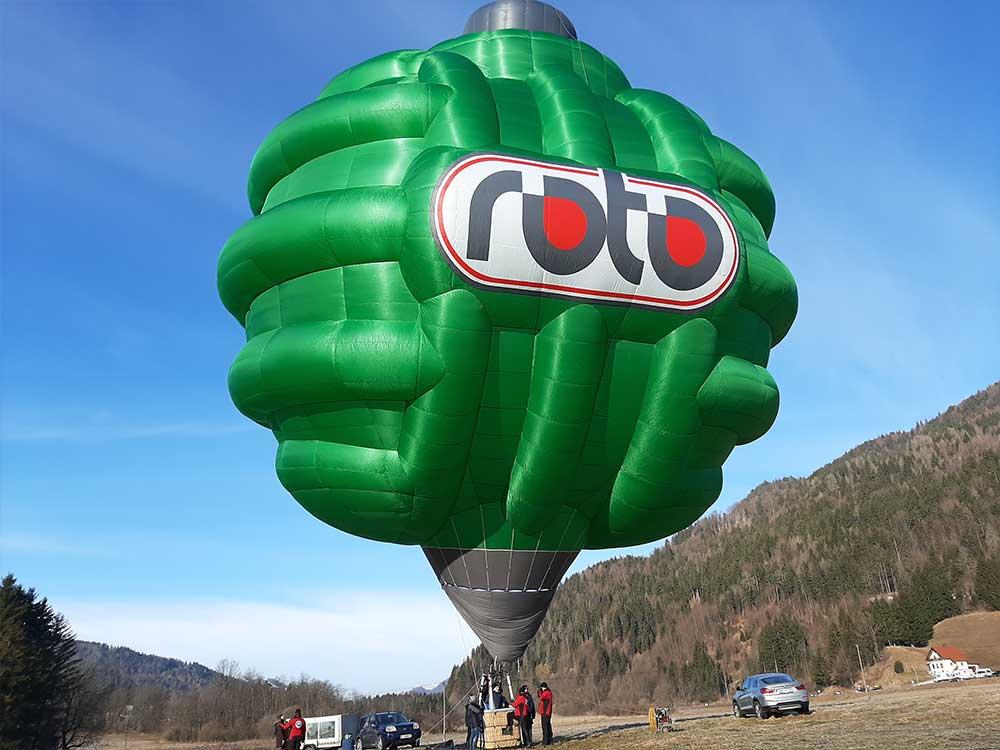 ROTO balon čistilna naprava